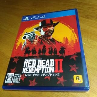 プレイステーション4(PlayStation4)のメイ様専用 中古 RED DEAD REDEMPTION2 コード未使用(家庭用ゲームソフト)