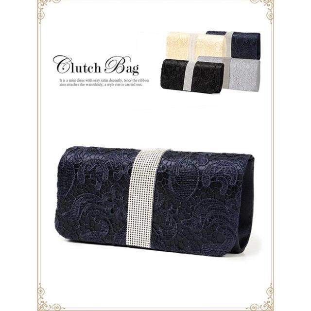dazzy store(デイジーストア)の新品・未使用 パーティ クラッチバッグ*。 レディースのバッグ(クラッチバッグ)の商品写真