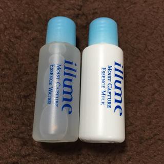 イリューム(illume)のイリューム 乳液 化粧水 セット 10ml(サンプル/トライアルキット)