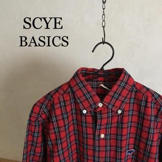 サイ(Scye)のSCYE BASICS   先染めOX check B.D. shirt(シャツ)