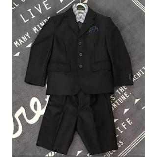 カンサイヤマモト(Kansai Yamamoto)の110 Kansai yamamoto 男の子 スーツ 5点セット 美品(ドレス/フォーマル)
