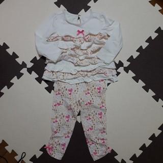 コアラベビー(KOALA Baby)の♥ロンパース♥ セットアップ 80cm(ロンパース)