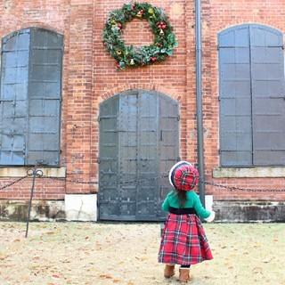 アニカ(annika)のANNIKA アニカ クリスマス ワンピース ドレス 80 85 90(ワンピース)