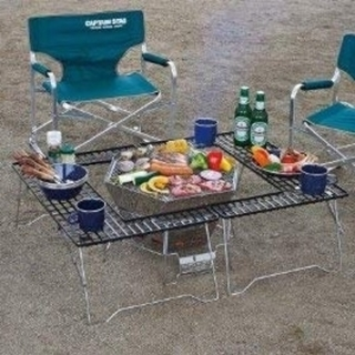 CAPTAIN STAG - キャプテンスタッグ BBQ 焚き火台+テーブル セット