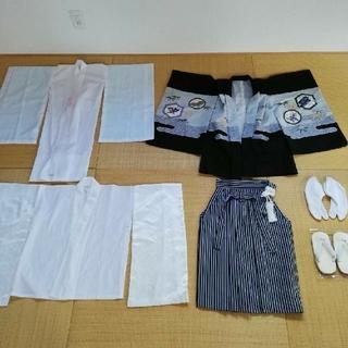 pochapy様専用 七五三 着物 袴 セット 5才 男の子(和服/着物)