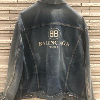 バレンシアガ(Balenciaga)のBALENCIAGA/バレンシアガ/Gジャン/BBモード/サイズ48/極美品(Gジャン/デニムジャケット)