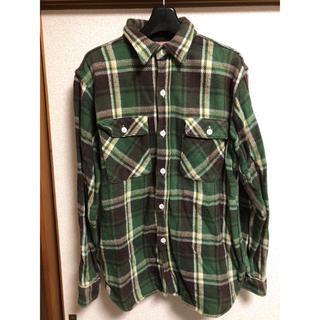 ダブルワークス(DUBBLE WORKS)のDOUBLEWORKS ヘビーネルシャツ チェックシャツ(シャツ)