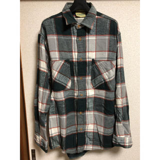 シュガーケーン(Sugar Cane)のBIGMAC STJOHNSBAY ワークヘビーチェックシャツ ネルシャツ(シャツ)