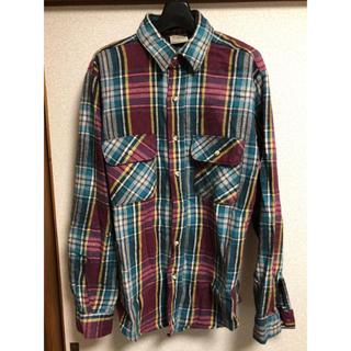 シュガーケーン(Sugar Cane)のFIVEBROTHER ヘビーネルチェックシャツ(シャツ)