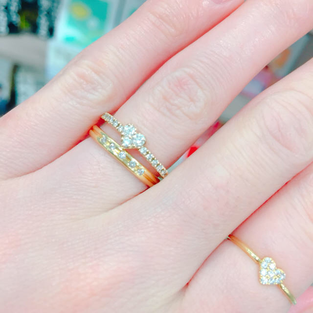 PonteVecchio(ポンテヴェキオ)のきょろ様専用♡美品♡ポンテヴェキオ♡ダイヤモンドリング レディースのアクセサリー(リング(指輪))の商品写真
