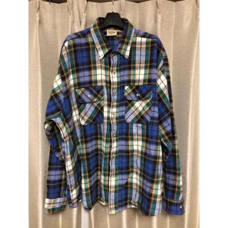 シュガーケーン(Sugar Cane)のFIVEBROTHER オーバーサイズチェックシャツ 2XL(シャツ)