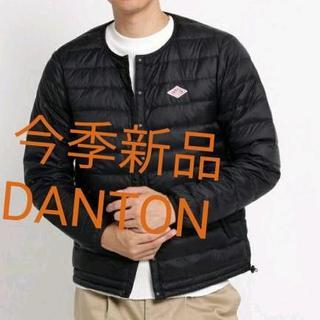 ダントン(DANTON)のDANTON インナーダウンジャケット 42 ブラック(ダウンジャケット)