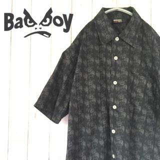 バッドボーイ(BADBOY)の【激レア】BAD BOY USA バッドボーイ 総柄シャツ 379(シャツ)