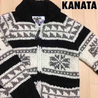 カナタ(KANATA)の#3560 KANATA カナタ カウチン セーター ニット(ブルゾン)