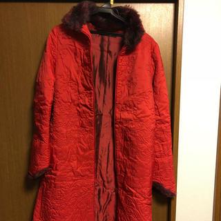 ヴィヴィアンタム(VIVIENNE TAM)の刺繍コート(ロングコート)