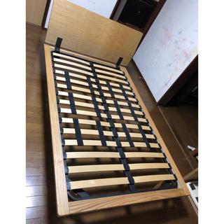 ムジルシリョウヒン(MUJI (無印良品))のカプリ様専用 無印 ベッド セミダブル フレーム MUJI(セミダブルベッド)