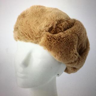 カシータ(casiTA)の新品未使用◎ファーベレー帽 フェイクファー ベレー ベレー帽(ハンチング/ベレー帽)