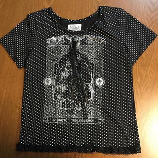 エイチナオト(h.naoto)のドット柄 Tシャツ(Tシャツ(半袖/袖なし))