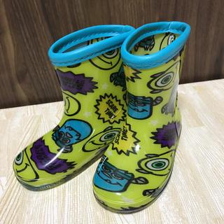 ディズニー(Disney)の[美品]モンスターズインク 14cm 長靴 レインシューズ(長靴/レインシューズ)
