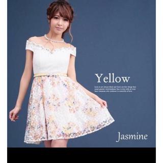 ジャスミン(ジャスミン)の新品jasmineワンピースドレス(ミニドレス)