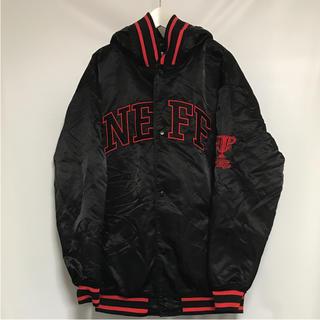 ネフ(Neff)のNEFF ネフ ジャケット ブルゾン 2XL ブラック スノーボード スタジャン(スタジャン)