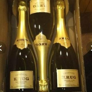 クリュッグ(Krug)のKRUG  750ml  6本セット(シャンパン/スパークリングワイン)