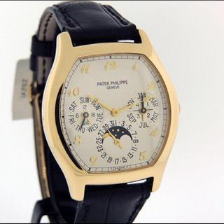 返品① パテフィリ腕時計 5040J パーペチュアルカレンダー K18YG (腕時計(アナログ))