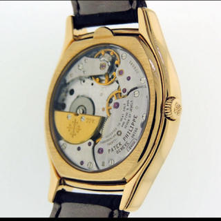 返品② パテフィリ腕時計 5040J パーペチュアルカレンダー K18YG (腕時計(アナログ))