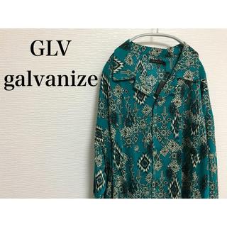ガルヴァナイズ(Galvanize)のタグ付き新品 GLV galvanize シャツ 総柄(シャツ)