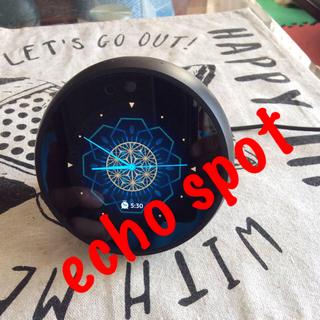 エコー(ECHO)のAmazon echo spot  スクリーン付きスマートスピーカー(スピーカー)