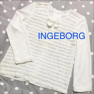 INGEBORG フリル トップス