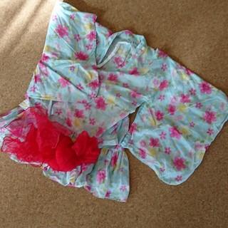 浴衣ドレス 帯付き   130サイズ(甚平/浴衣)