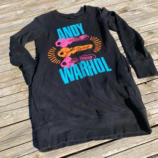 アンディウォーホル(Andy Warhol)のSPRZ NY ANDY WARHOL スウェットワンピース(ひざ丈ワンピース)
