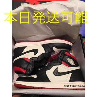 ナイキ(NIKE)のair jordan 1 not for resale 26cm(スニーカー)