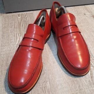 コムデギャルソンオムプリュス(COMME des GARCONS HOMME PLUS)の【ほぼ美品】【目立つ】COMME des GARCONS 革靴(ドレス/ビジネス)