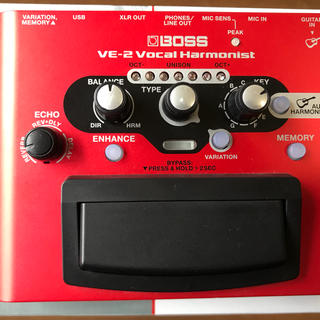 ボス(BOSS)のBOSS VE-2 ボイスハーモニー(エフェクター)