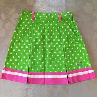 ディジーラバーズ(DAISY LOVERS)の新品✨ 美品 DAISYLOVERS スカート グリーン 星柄(スカート)