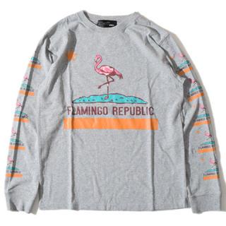 アールディーズ(aldies)のALDIES/アールディーズ 『Flamingo long T』Gray(Tシャツ/カットソー(七分/長袖))