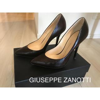 ジュゼッペザノッティデザイン(Giuseppe Zanotti Design)のお値下げ! GIUSEPPE ZANOTTI パンプス美品☆ サイズ38(ハイヒール/パンプス)