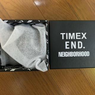 ネイバーフッド(NEIGHBORHOOD)のTimex  end.  NEIGHBORHOOD  限定  未使用 最終価格(腕時計(アナログ))