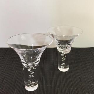 スガハラ(Sghr)のSghr/ エアーリップ、神秘的に立ち昇る泡セット(グラス/カップ)