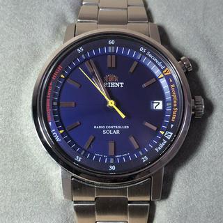 オリエント(ORIENT)のオリエント スタイリッシュ&スマート WV0111SE 電波 ソーラー 腕時計(腕時計(アナログ))
