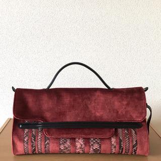 ザネラート(ZANELLATO)の【新品未使用 】ZANELLATOベルベットバッグ(ハンドバッグ)