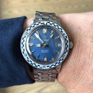 ゾディアック(ZODIAC)のZodiac 時計 シーウルフ オートマティック(腕時計(アナログ))