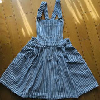 エムズエキサイト☆サロペットスカート