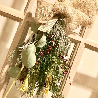 ♪ローズヒップのブーケ♪ ドライフラワー 花束 スワッグ クリスマス リース(ドライフラワー)
