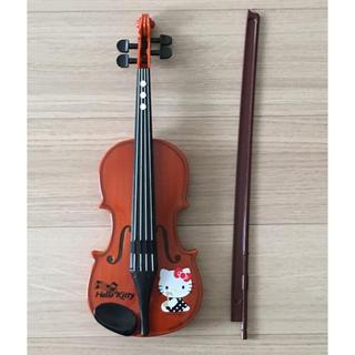 ハローキティ(ハローキティ)のハローキティ ひけちゃうバイオリン(楽器のおもちゃ)