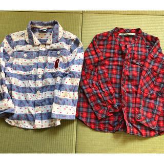 ハグオーワー(Hug O War)の女児 長袖シャツ(薄手)100(Tシャツ/カットソー)