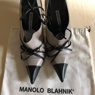 マノロブラニク(MANOLO BLAHNIK)のマノロブラニク    ショートブーツ37.5(ブーツ)