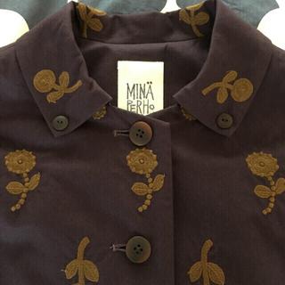 ミナペルホネン(mina perhonen)の週末お値下げ ミナペルホネンランドリー bonheur コート  (その他)